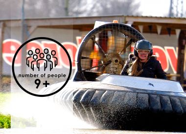 Hovercraft Trials | 9+ people