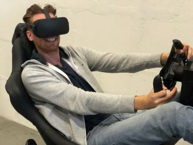 Immersive VR Experience   Virtual Reality Race Experience