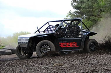 2 Seater Rebel Buggy Extended